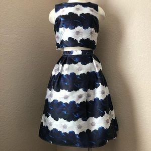 NEW Art Daisy Print 2PC Top/Skirt Set from LuLu's